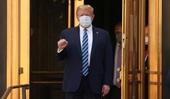 Tổng thống Mỹ Donald Trump xuất viện