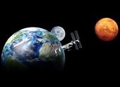Sao Hỏa đang tỏa sáng rực rỡ trong bầu trời đêm khi ở gần Trái đất nhất trong 17 năm