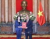 Thứ trưởng Bộ VH-TT-DL làm Phó Chủ nhiệm Văn phòng Chủ tịch nước
