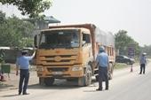 Xử phạt hơn 1 300 xe quá tải trong tháng 9 2020