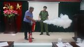 VKSND cấp cao tại Đà Nẵng tập huấn công tác PCCC