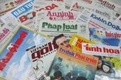 Chủ tịch UBND các cấp có quyền xử phạt các cơ quan báo chí, xuất bản