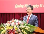 Chủ tịch UBND tỉnh Quảng Ninh được giới thiệu để bầu giữ chức Bí thư Tỉnh ủy Điện Biên