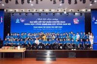 Đoàn đại biểu lớp tập huấn chuyển giao Khoa học công nghệ khu vực Đông Nam Bộ tham quan và giao lưu tại Tập đoàn Tân Hiệp Phát