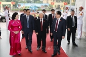 Tổng Bí thư, Chủ tịch nước Nguyễn Phú Trọng dự Đại hội đại biểu Đảng bộ thành phố Hà Nội