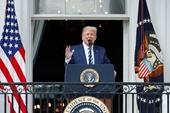 Tổng thống Mỹ tuyên bố miễn dịch với COVID-19
