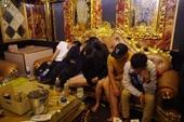 Hàng chục thanh niên tại Quảng Trị tụ tập chơi ma túy bất chấp lũ dữ