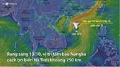 Bão Nangka sẽ gây mưa lớn ở Bắc Bộ và Bắc Trung Bộ