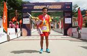 Ông Đoàn Ngọc Hải tiếp tục giành thêm huy chương ở giải marathon