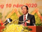 Đồng chí Lê Văn Thành được giới thiệu bầu giữ chức Bí thư Thành ủy Hải Phòng