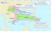 Bão số 7 đã áp sát bờ biển từ Thái Bình đến Nghệ An, nhiều nơi mưa lớn