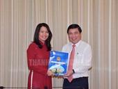 Bổ nhiệm bà Nguyễn Thị Ánh Hoa giữ chức vụ Giám đốc Sở Du lịch TP HCM
