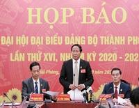 Hải Phòng ủng hộ miền Trung 10 tỉ đồng ngay tại Đại hội Đảng bộ