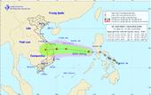 Áp thấp nhiệt đới di chuyển nhanh, hướng vào Đà Nẵng - Phú Yên