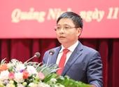 Nguyên Chủ tịch tỉnh Quảng Ninh được bầu giữ chức Bí thư Tỉnh ủy Điện Biên