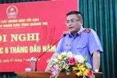 VKSND tỉnh Quảng Trị tổ chức Hội nghị sơ kết công tác 6 tháng đầu năm 2020