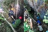 Nam thanh niên tìm đá quý ngã xuống hang sâu 147m tử vong