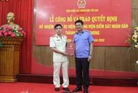 Trao quyết định bổ nhiệm Viện trưởng VKSND TP Hải Phòng