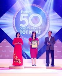 8 năm liên tiếp dẫn đầu ngành Bảo hiểm trong Top 50 công ty niêm yết tốt nhất năm 2020 Forbes