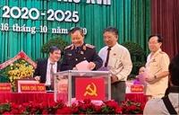 Viện trưởng VKSND tỉnh Phú Yên tái đắc cử Ban chấp hành Đảng bộ tỉnh