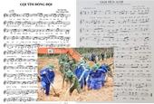 Xúc động hai bản nhạc phổ thơ phóng viên Báo BVPL trước sự hy sinh của 13 cán bộ, chiến sĩ