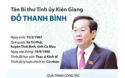 Tân Bí thư Tỉnh ủy Kiên Giang Đỗ Thanh Bình