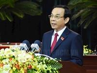 Ra mắt BCH Đảng bộ TP HCM khóa XI, quyên góp ủng hộ đồng bào miền Trung