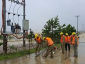 Công ty Điện lực Hà Tĩnh khôi phục cung cấp điện đến thời điểm hiện tại