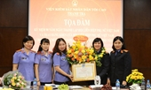 Tọa đàm kỷ niệm 90 năm ngày thành lập Hội Liên hiệp Phụ nữ Việt Nam
