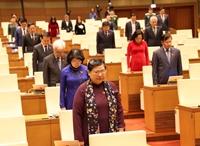 Quốc hội tưởng niệm, chia sẻ mất mát, hy sinh của chiến sĩ, đồng bào miền Trung