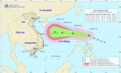 Áp thấp nhiệt đới mạnh lên thành bão Saudel sắp vào Biển Đông