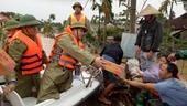 Không để dân đói, khát trong vùng ngập lụt sâu tại huyện Thạch Hà, Hà Tĩnh