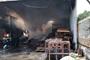 Hàng trăm Cảnh sát PCCC chữa cháy xưởng sơn đồ gỗ trong khu công nghiệp