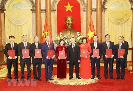 Tổng Bí thư, Chủ tịch nước Nguyễn Phú Trọng tiếp các Đại sứ, Tổng Lãnh sự Việt Nam ở nước ngoài