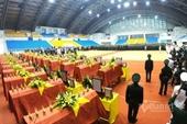 Xúc động Lễ truy điệu, tiễn đưa 22 cán bộ chiến sĩ hy sinh tại Quảng Trị