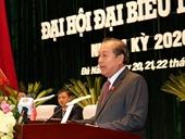 Phó Thủ tướng Trương Hòa Bình gợi mở 5 vấn đề thảo luận tại ĐH đại biểu Đảng bộ TP Đà Nẵng