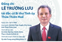 Đồng chí Lê Trường Lưu tái đắc cử Bí thư Tỉnh ủy Thừa Thiên - Huế