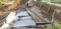 Nguyên nhân ban đầu vụ công trình thủy lợi 119 tỉ đồng vừa sửa xong lại tiếp tục đổ sập, tan nát