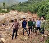 Vụ lở núi vùi lấp lán trại tại Quảng Bình Tìm thấy toàn bộ 4 thi thể