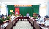VKSND tỉnh Sóc Trăng trực tiếp kiểm sát tại Trại tạm giam Công an tỉnh