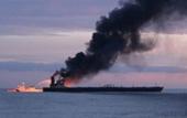 Tàu chở dầu Nga phát nổ gần eo biển Kerch