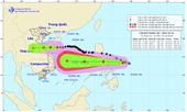 Bão số 8 sắp đổ bộ đất liền, áp thấp nhiệt đới mạnh lên thành bão số 9