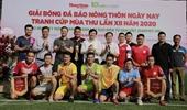 Báo Bảo vệ pháp luật tham gia Giải bóng đá tranh cúp Mùa Thu 2020