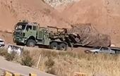 Iran gấp rút chuyển xe tăng, pháo hạng nặng tới biên giới giáp Azerbaijan