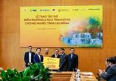 """""""Bầu Hiển"""" ủng hộ 5 tỷ đồng xây điểm trường và nhà tình nghĩa cho người nghèo tỉnh Cao Bằng"""