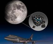 NASA phát hiện ra nước trên bề mặt Mặt trăng