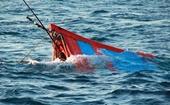 Hai tàu cá bị chìm trong vùng ảnh hưởng của bão số 9