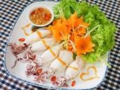 Mực nhồi thịt hấp đổi món cho bữa cơm chiều