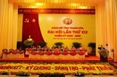 Đại biểu dự Đại hội Đảng bộ tỉnh Thanh Hóa quyên góp ủng hộ đồng bào miền Trung