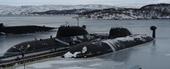 Ba tàu ngầm hạt nhân của Nga lượn lờ gần bờ biển Anh